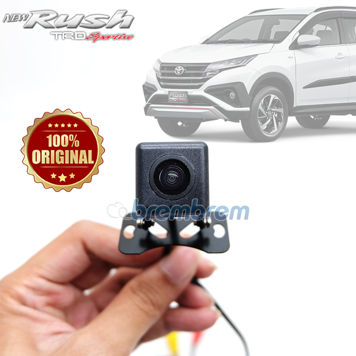 OTOPROJECT UNIVERSAL - KAMERA MUNDUR KOTAK TOYOTA ALL NEW RUSH