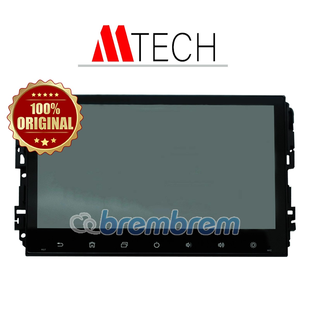 MTECH ANDROID BLACK - HEAD UNIT OEM (MITSUBISHI XPANDER)