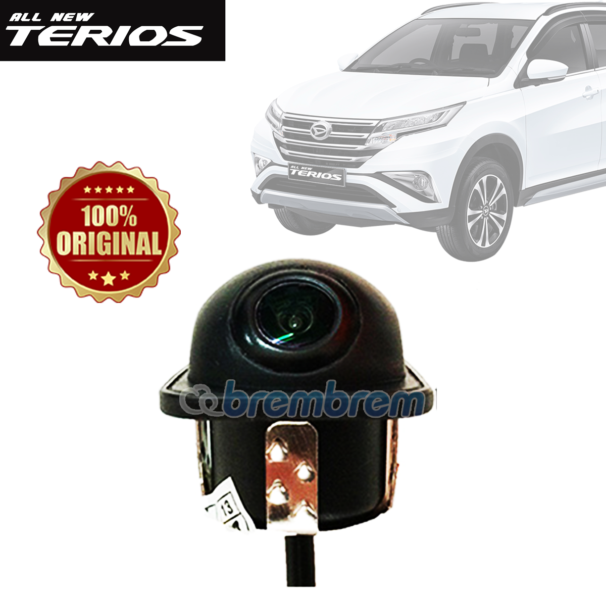 DIGICAM - KAMERA MUNDUR DAIHATSU ALL NEW TERIOS