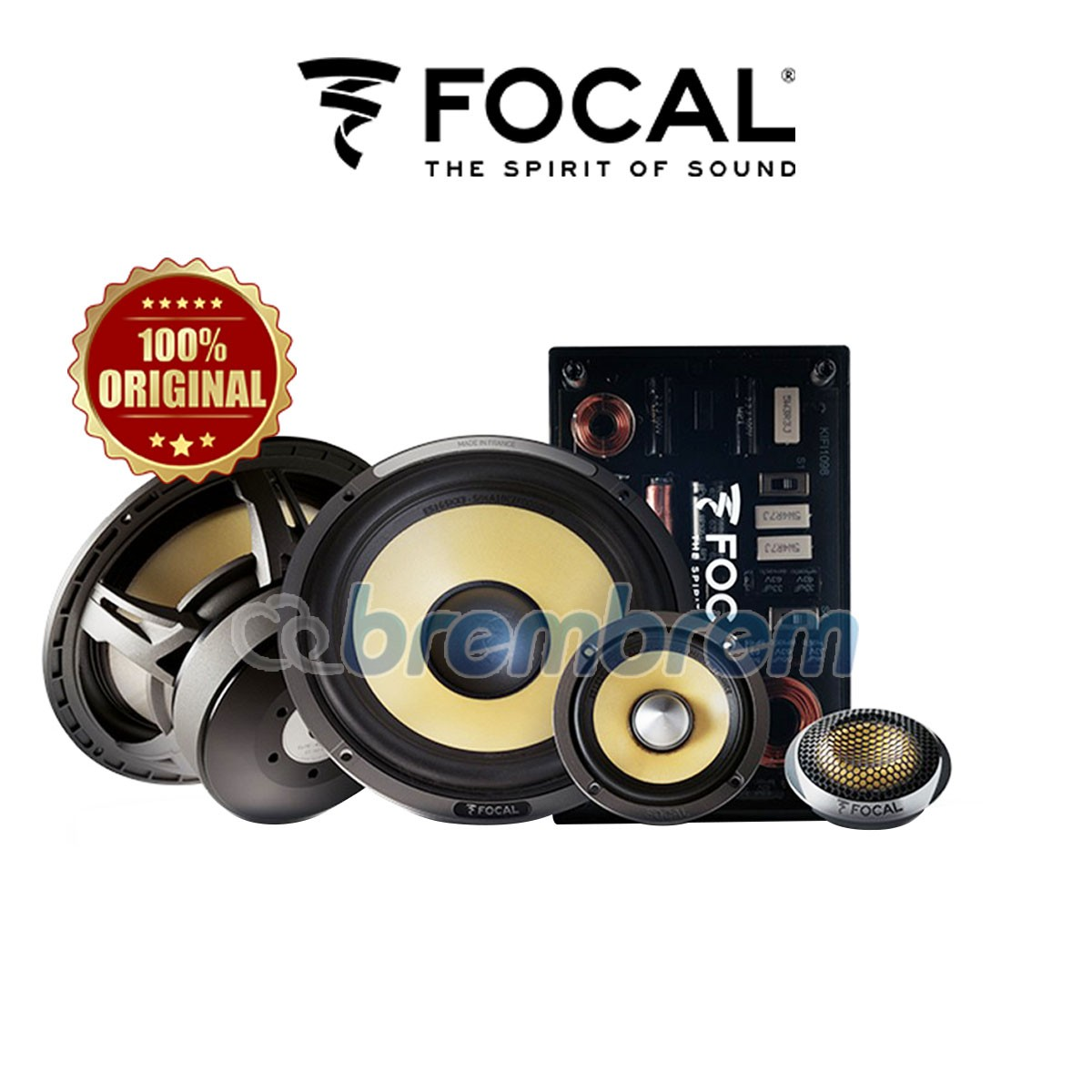 FOCAL ES 165 KX3 - SPEAKER 3 WAY