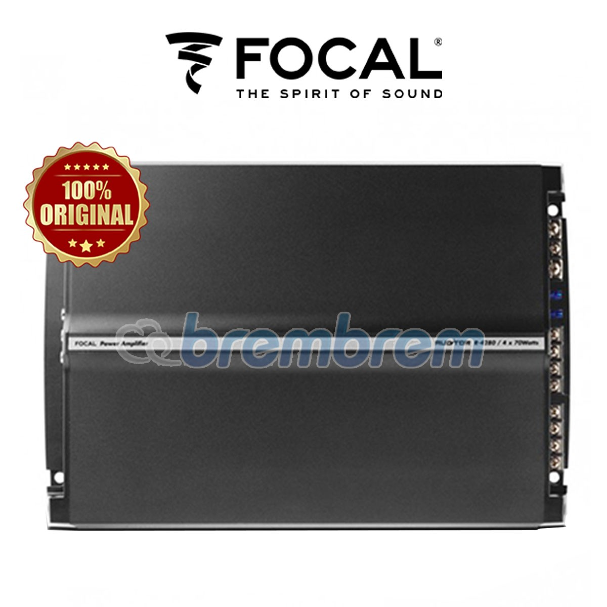 FOCAL R 4280 - POWER 4 CHANNEL