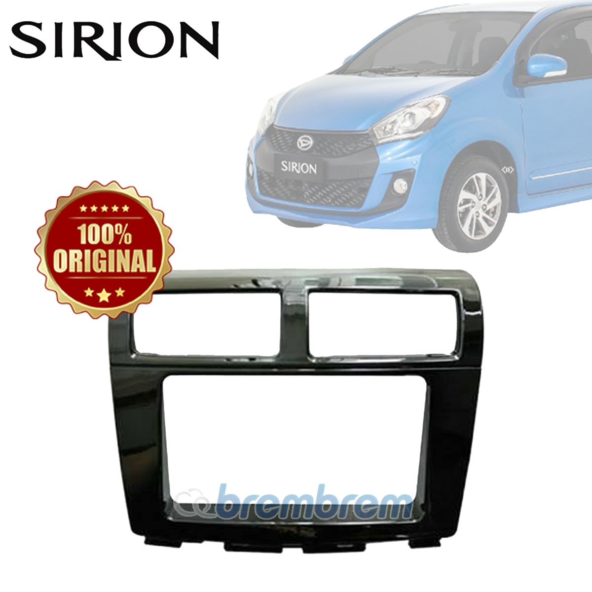 FRAME HEAD UNIT DAIHATSU ALL NEW SIRION 2012
