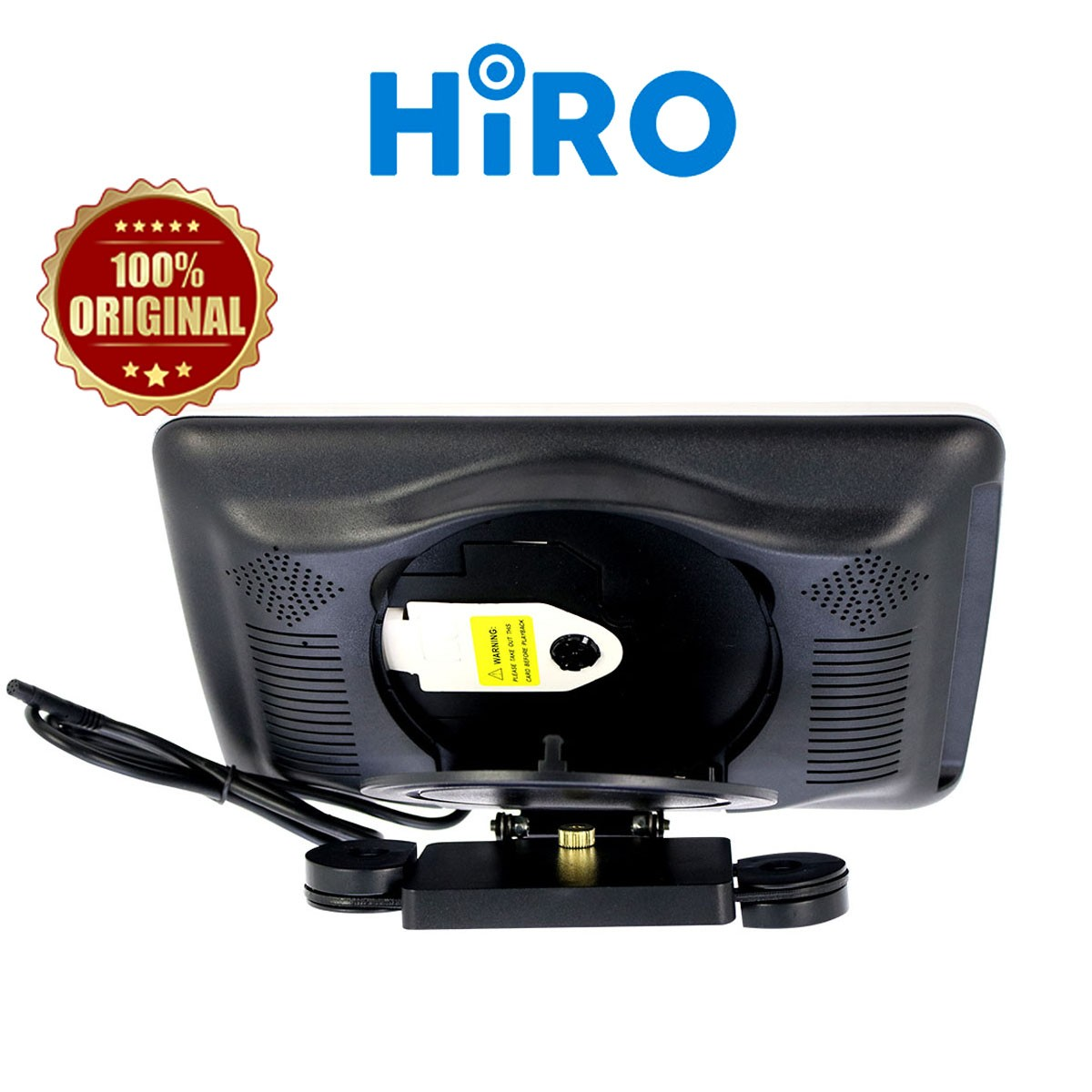 HIRO MONITOR HEADREST 10.1 INCH WITH DVD - CLIP ON