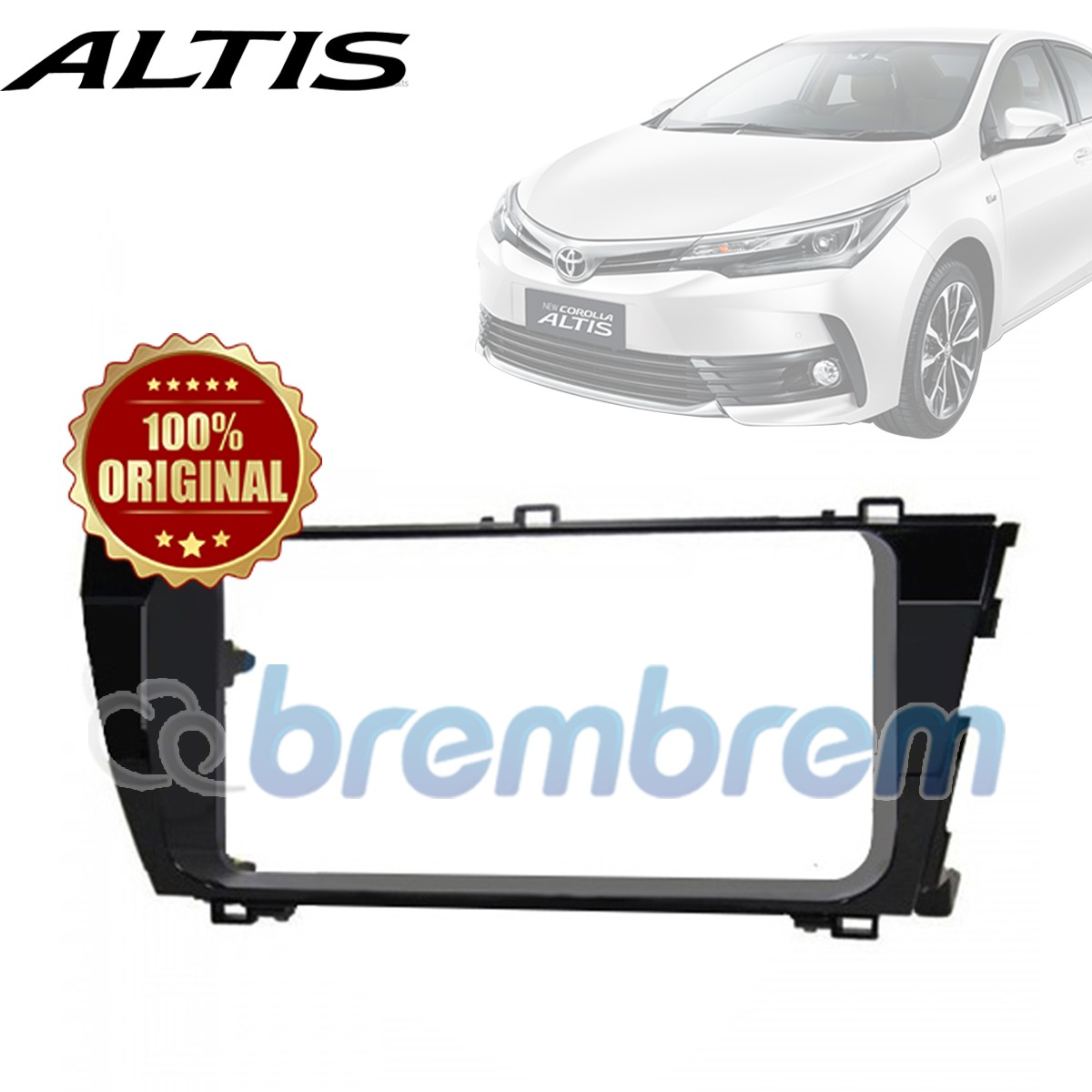 FRAME HEAD UNIT TOYOTA ALTIS 2013-2015