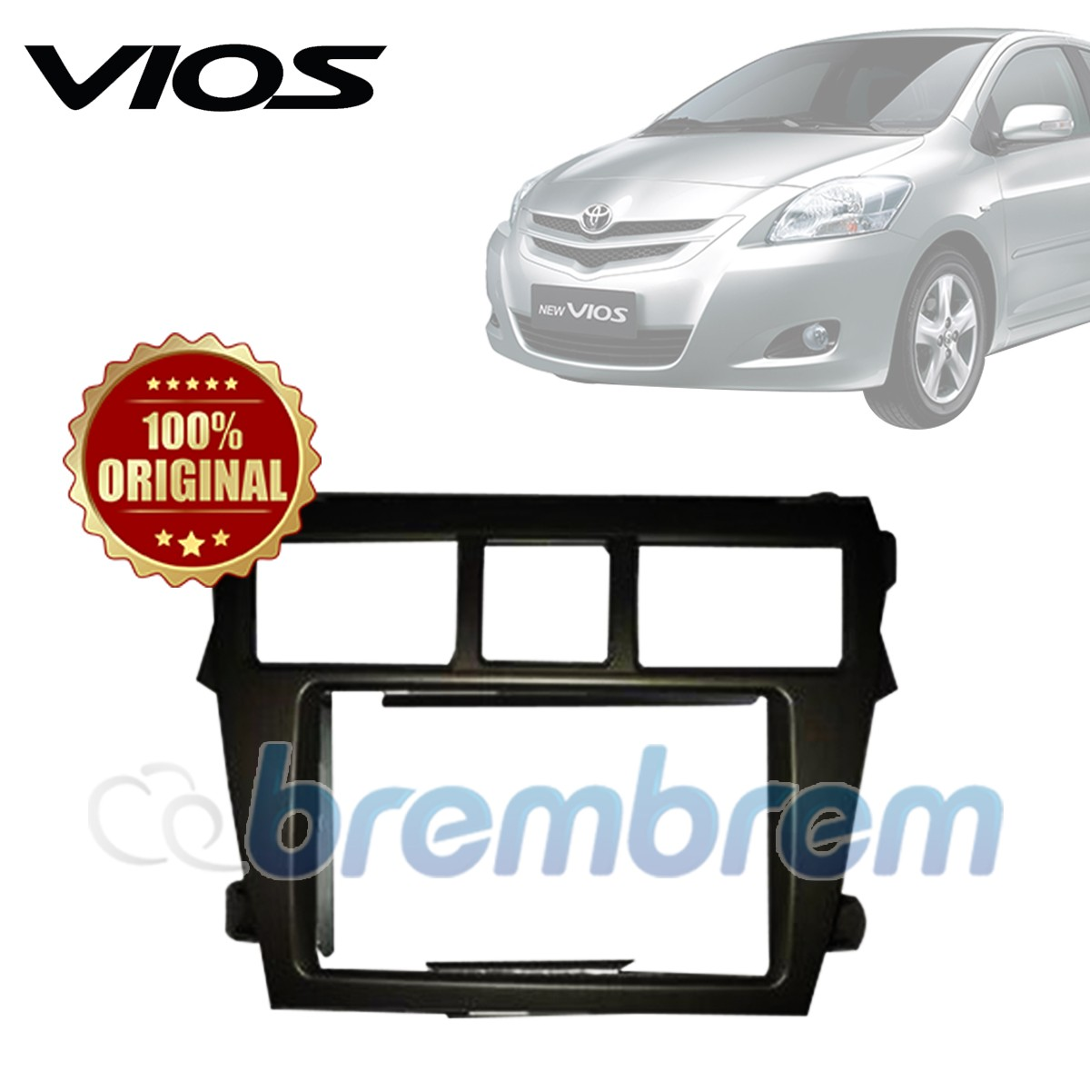 FRAME HEAD UNIT TOYOTA VIOS 2007-2012
