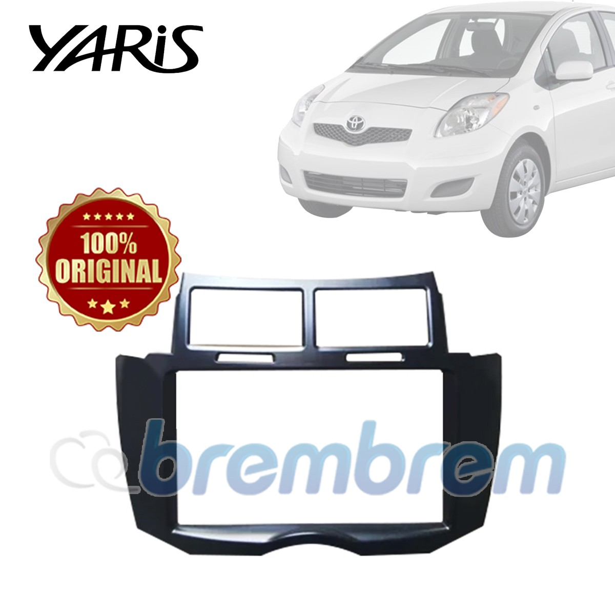 FRAME HEAD UNIT TOYOTA YARIS 2006-2013