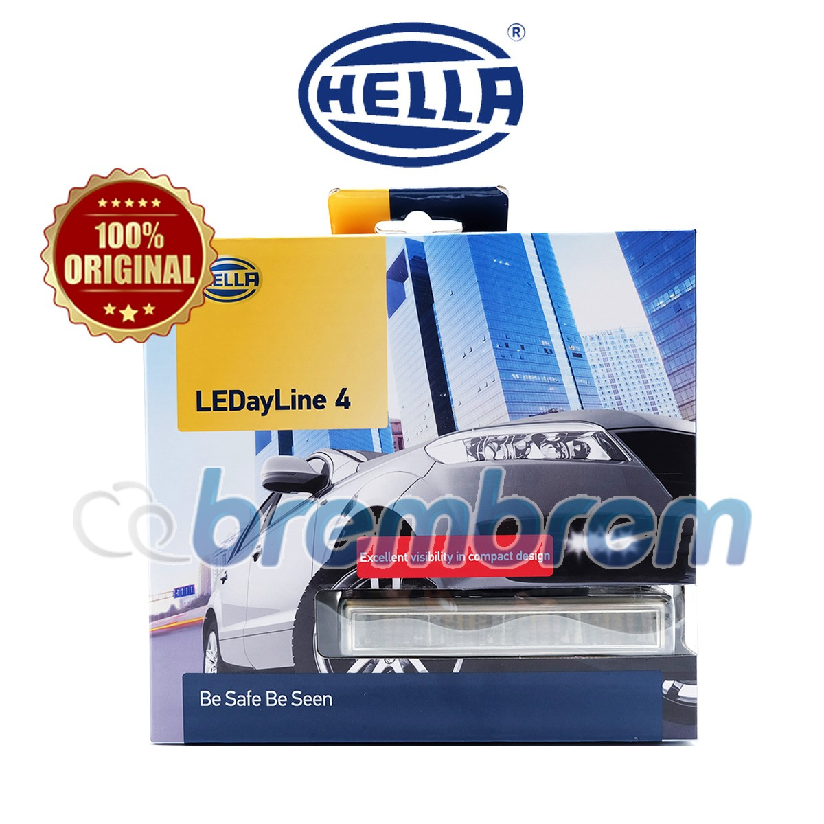HELLA LED DAY LINE 4 - LAMPU DRL MOBIL