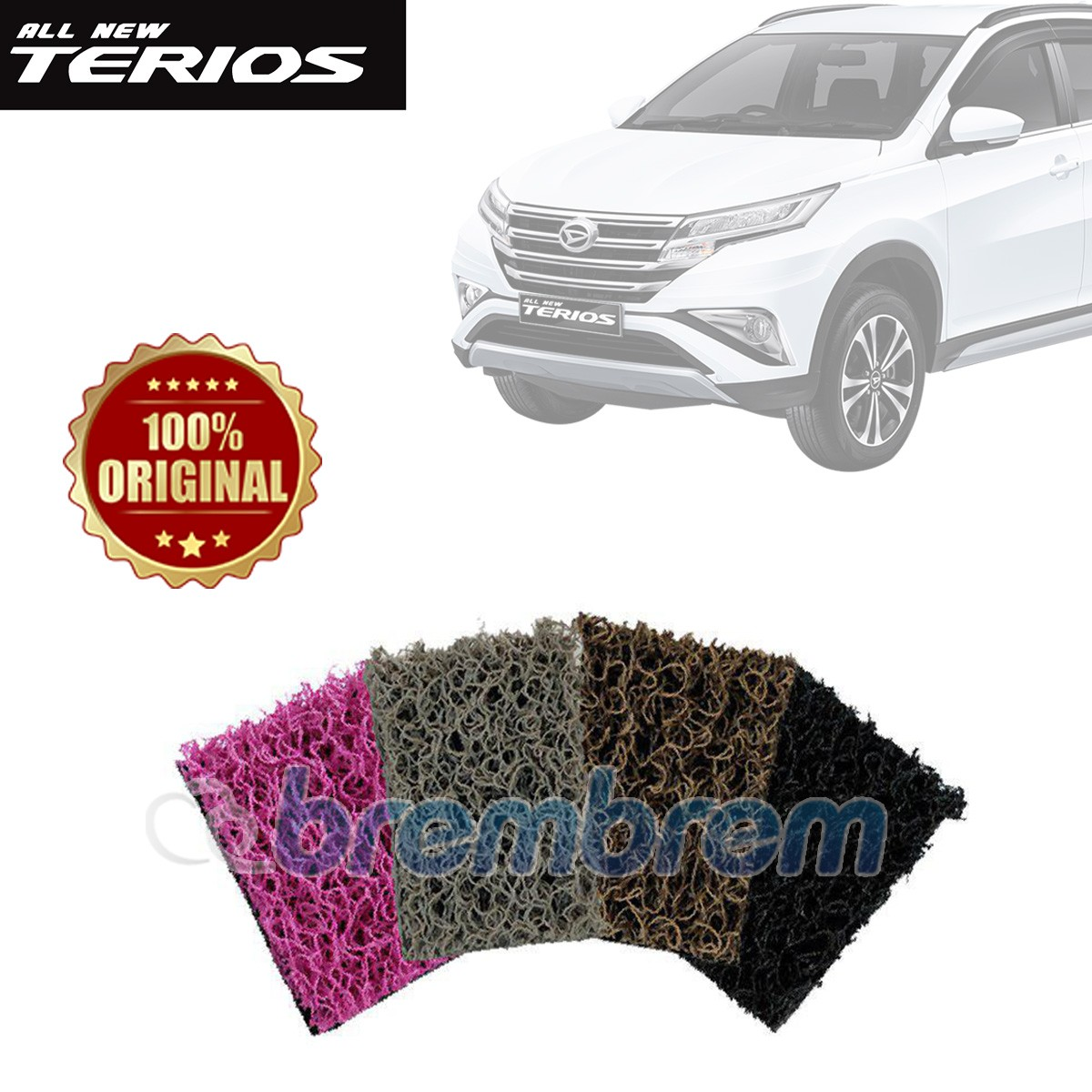 KARPET COMFORT DELUXE + BAGASI DAIHATSU ALL NEW TERIOS 2018