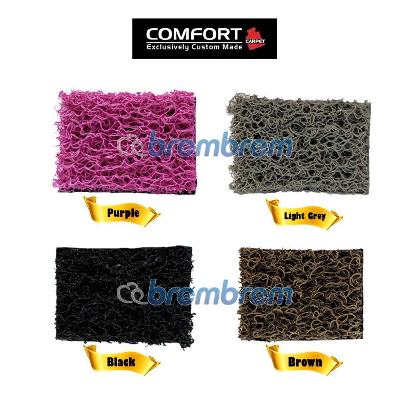KARPET COMFORT DELUXE NON BAGASI TOYOTA ALL NEW RUSH 2018