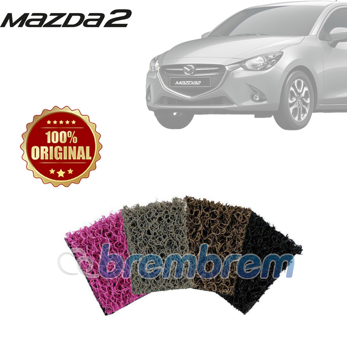 KARPET COMFORT PREMIUM + BAGASI ALL NEW MAZDA 2
