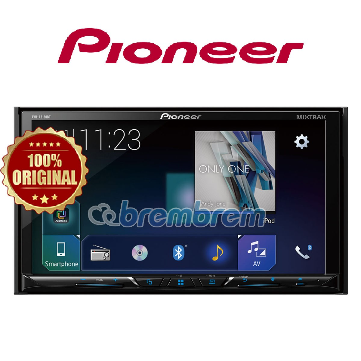 PIONEER AVH-A5150BT - HEAD UNIT DOUBLE DIN