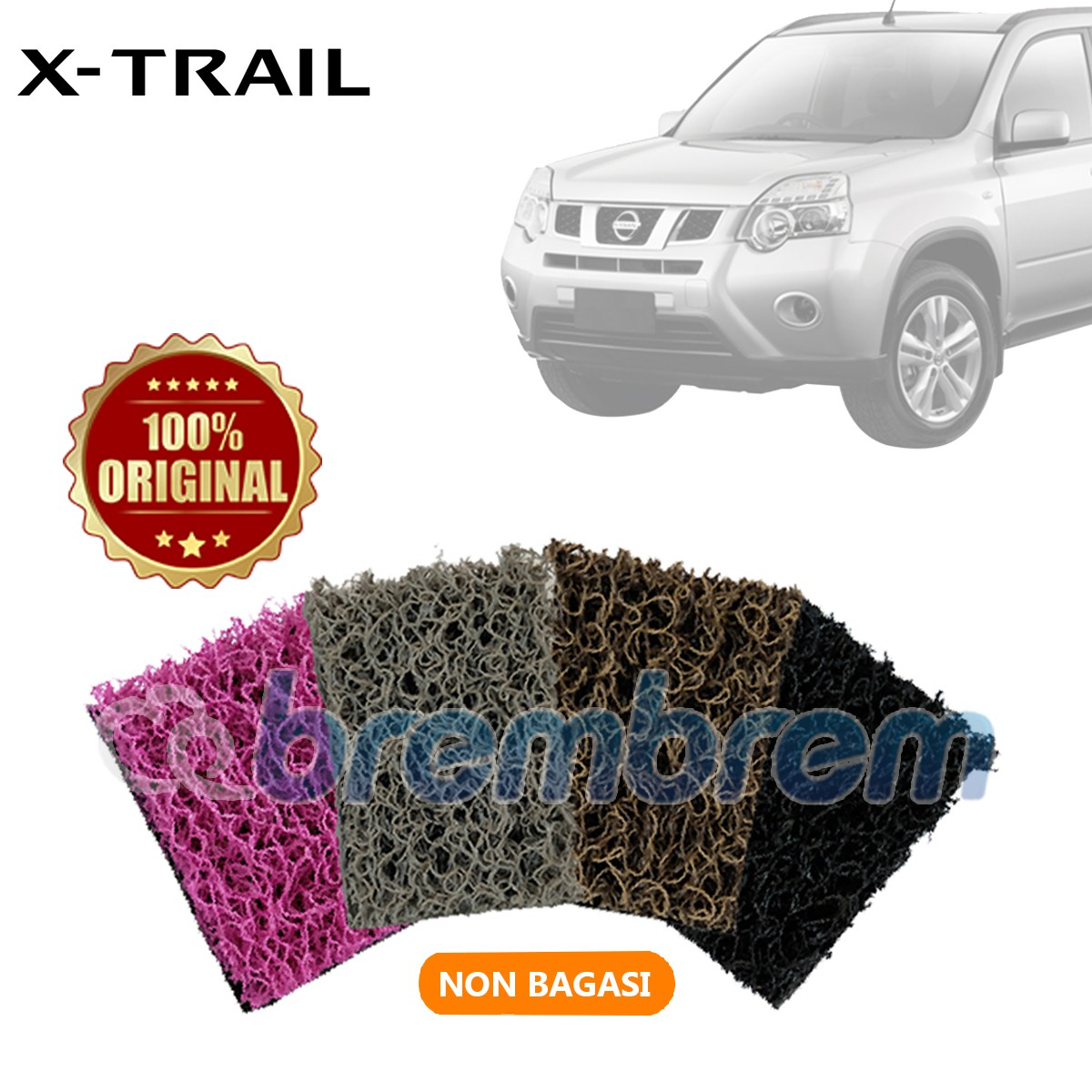 KARPET COMFORT DELUXE NON BAGASI NISSAN X-TRAIL