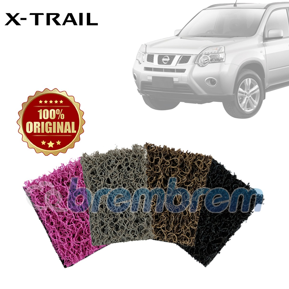 KARPET COMFORT DELUXE + BAGASI NISSAN X-TRAIL