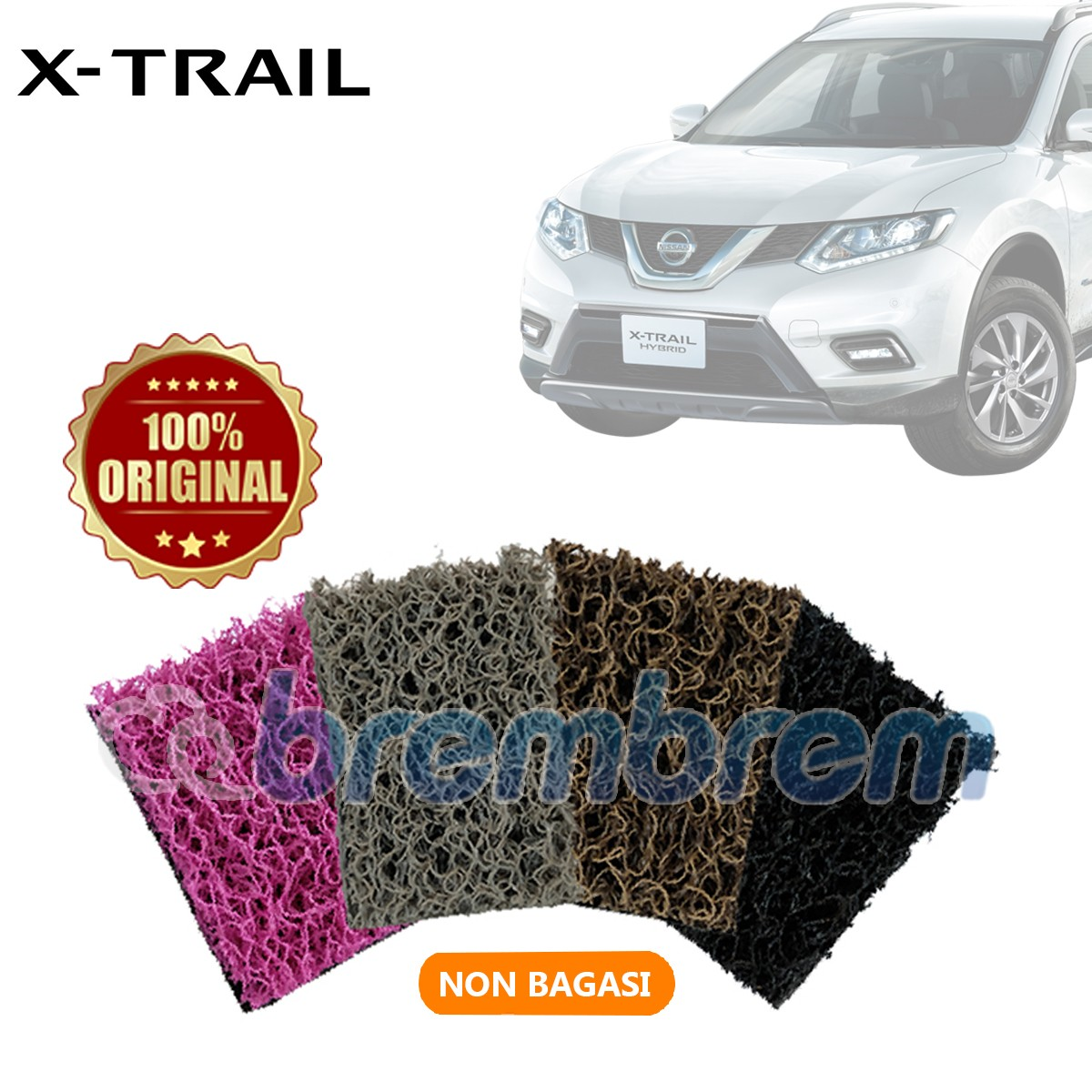 KARPET COMFORT DELUXE NON BAGASI NISSAN ALL NEW X-TRAIL