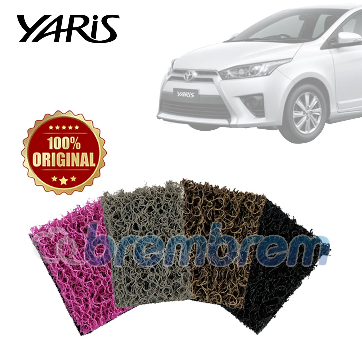 KARPET COMFORT DELUXE + BAGASI TOYOTA ALL NEW YARIS