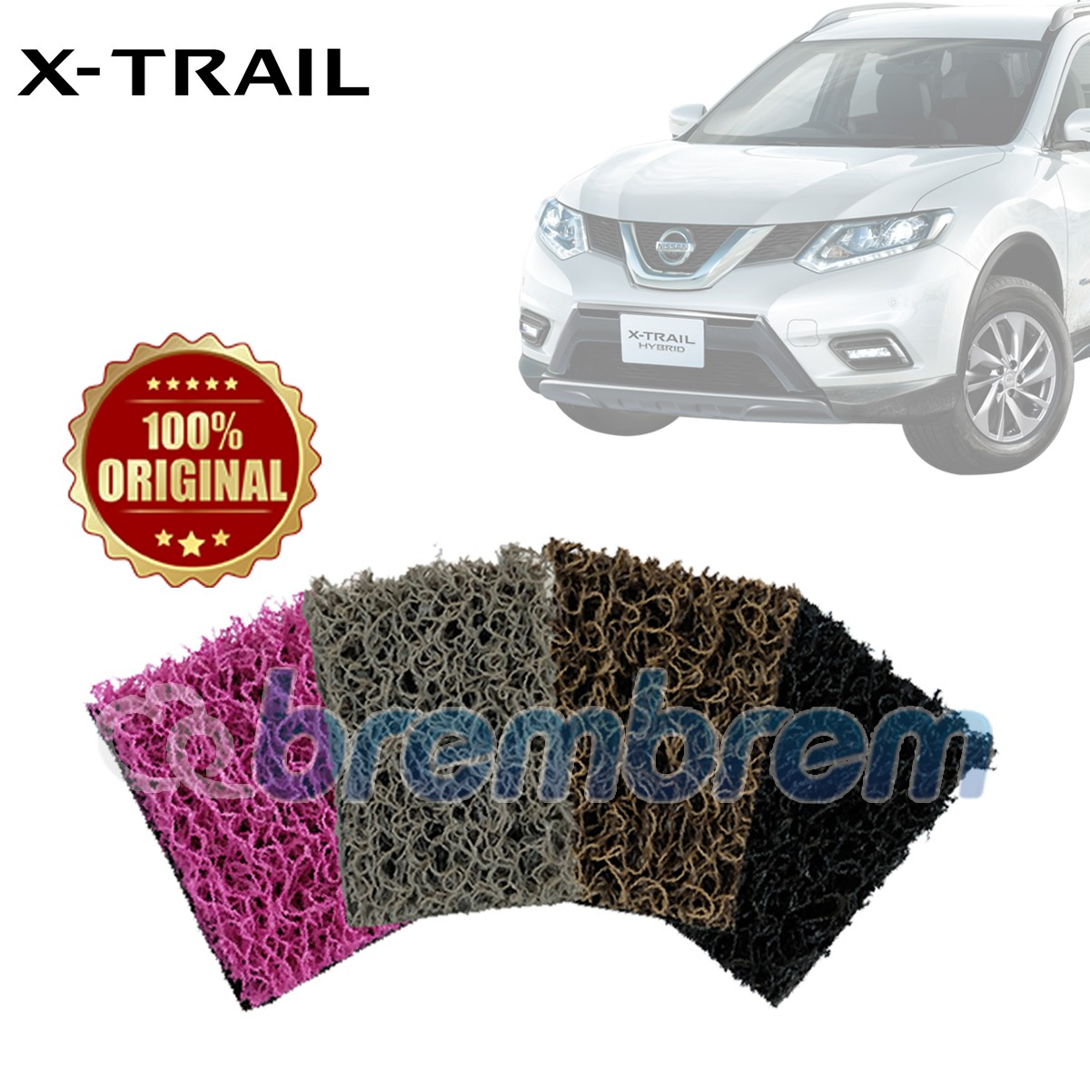 KARPET COMFORT DELUXE + BAGASI NISSAN ALL NEW X-TRAIL