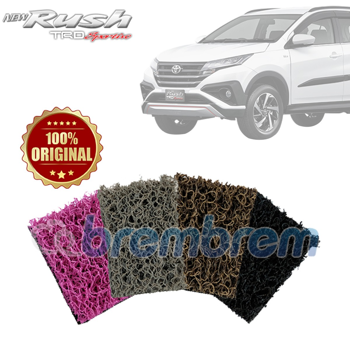 KARPET COMFORT DELUXE + BAGASI TOYOTA ALL NEW RUSH 2018
