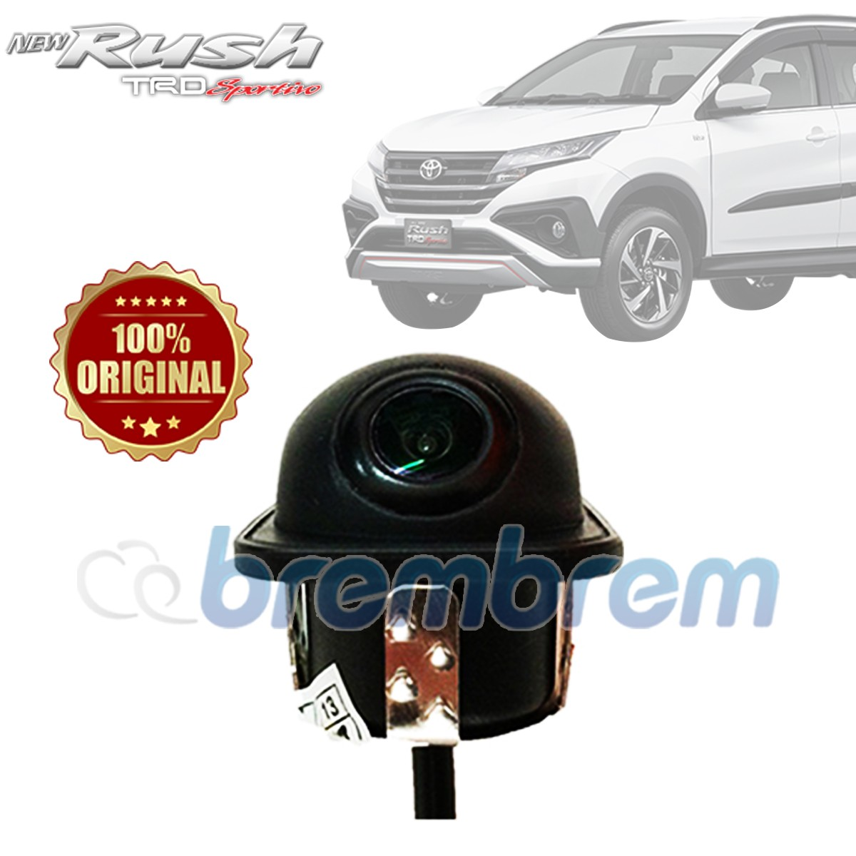 DIGICAM  - KAMERA MUNDUR TOYOTA ALL NEW RUSH