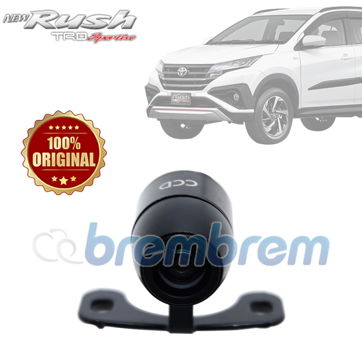 OTOPROJECT - KAMERA MUNDUR BULAT TOYOTA ALL NEW RUSH