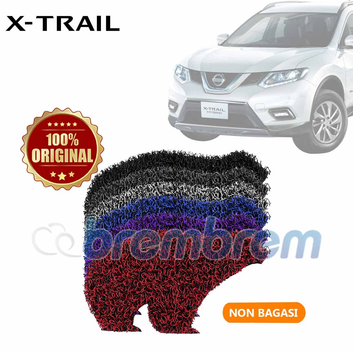 KARPET FIRST CLASS NON BAGASI NISSAN ALL NEW XTRAIL