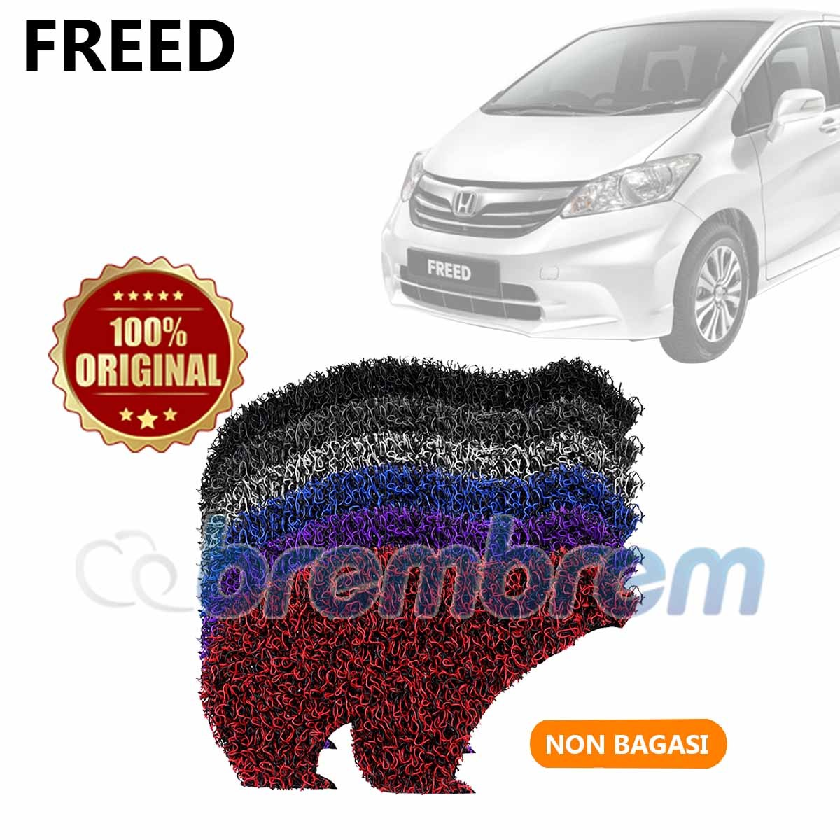KARPET FIRST CLASS NON BAGASI HONDA FREED