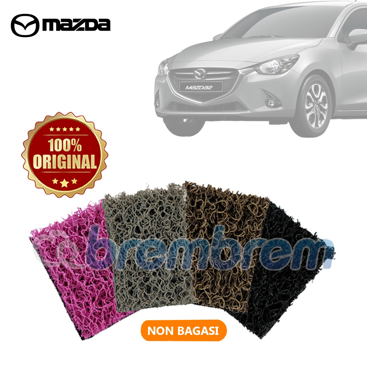 KARPET COMFORT DELUXE NON BAGASI ALL NEW MAZDA 2