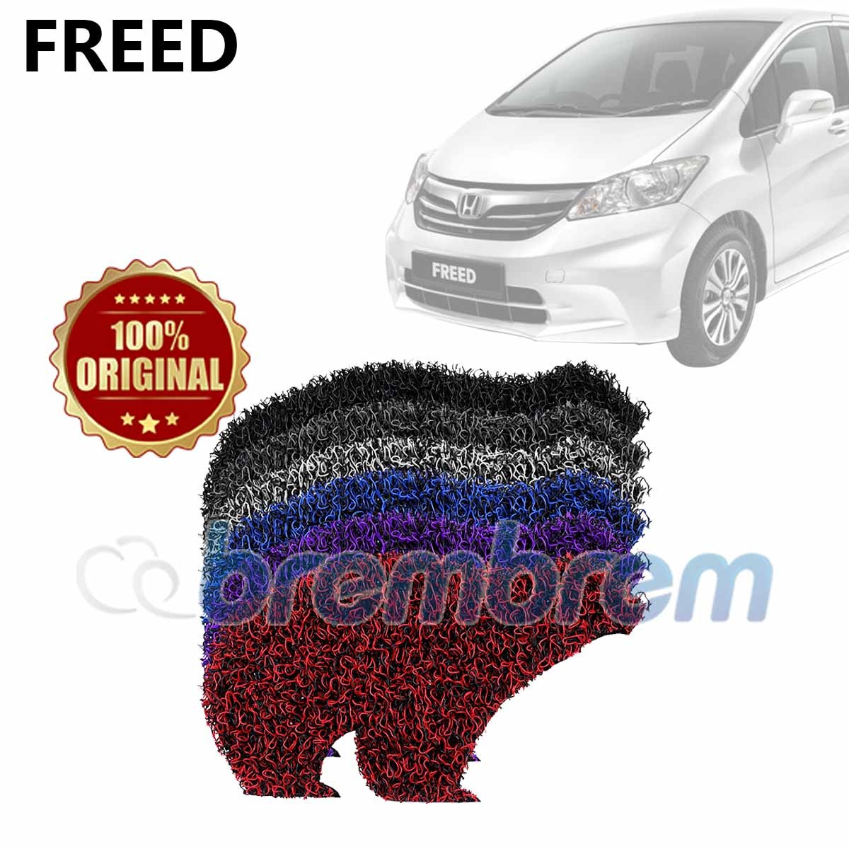 KARPET FIRST CLASS + BAGASI HONDA FREED