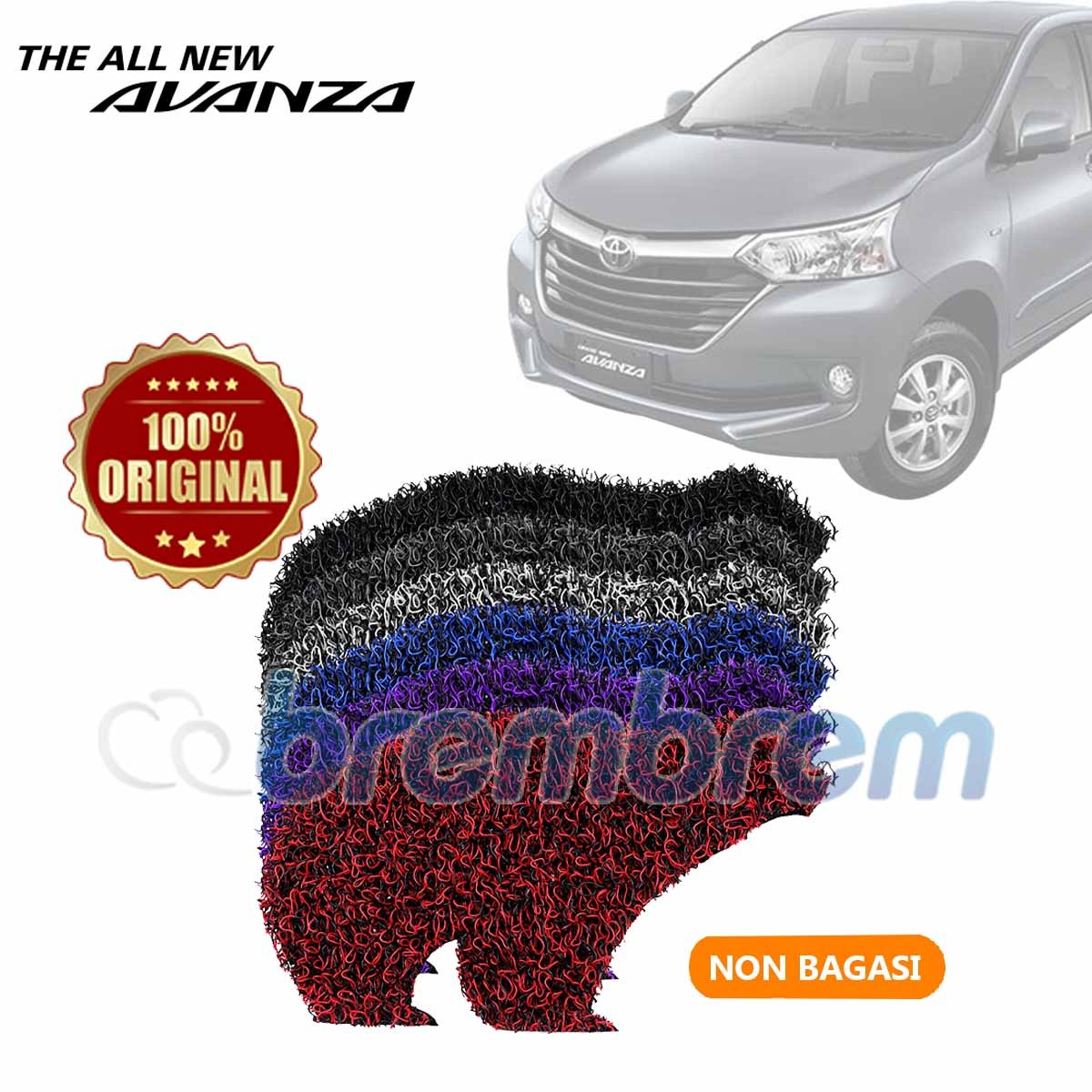 KARPET FIRST CLASS NON BAGASI TOYOTA AVANZA