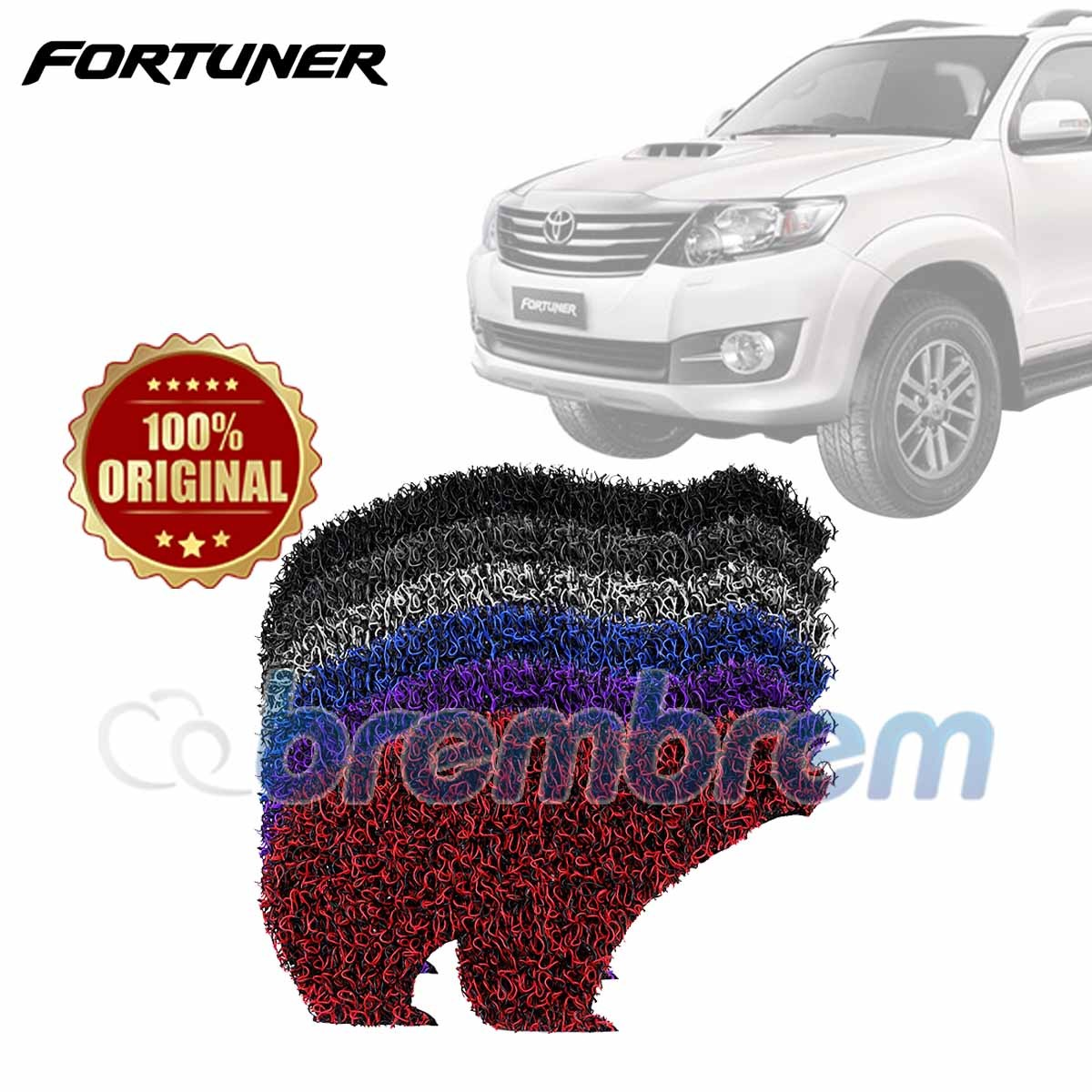 KARPET FIRST CLASS + BAGASI TOYOTA FORTUNER