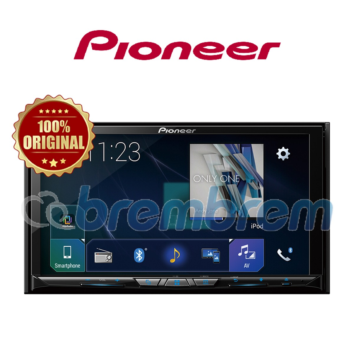 PIONEER AVH-Z9150BT - HEADUNIT DOUBLE DIN