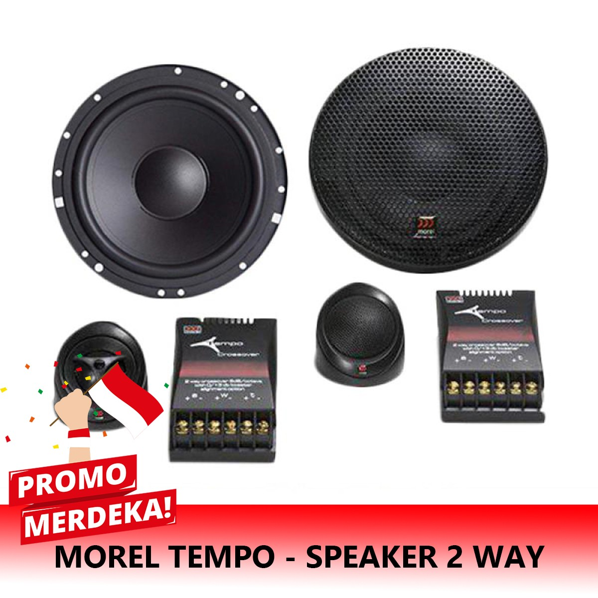 MERDEKA | SPECIAL MOREL TEMPO - SPEAKER 2 WAY