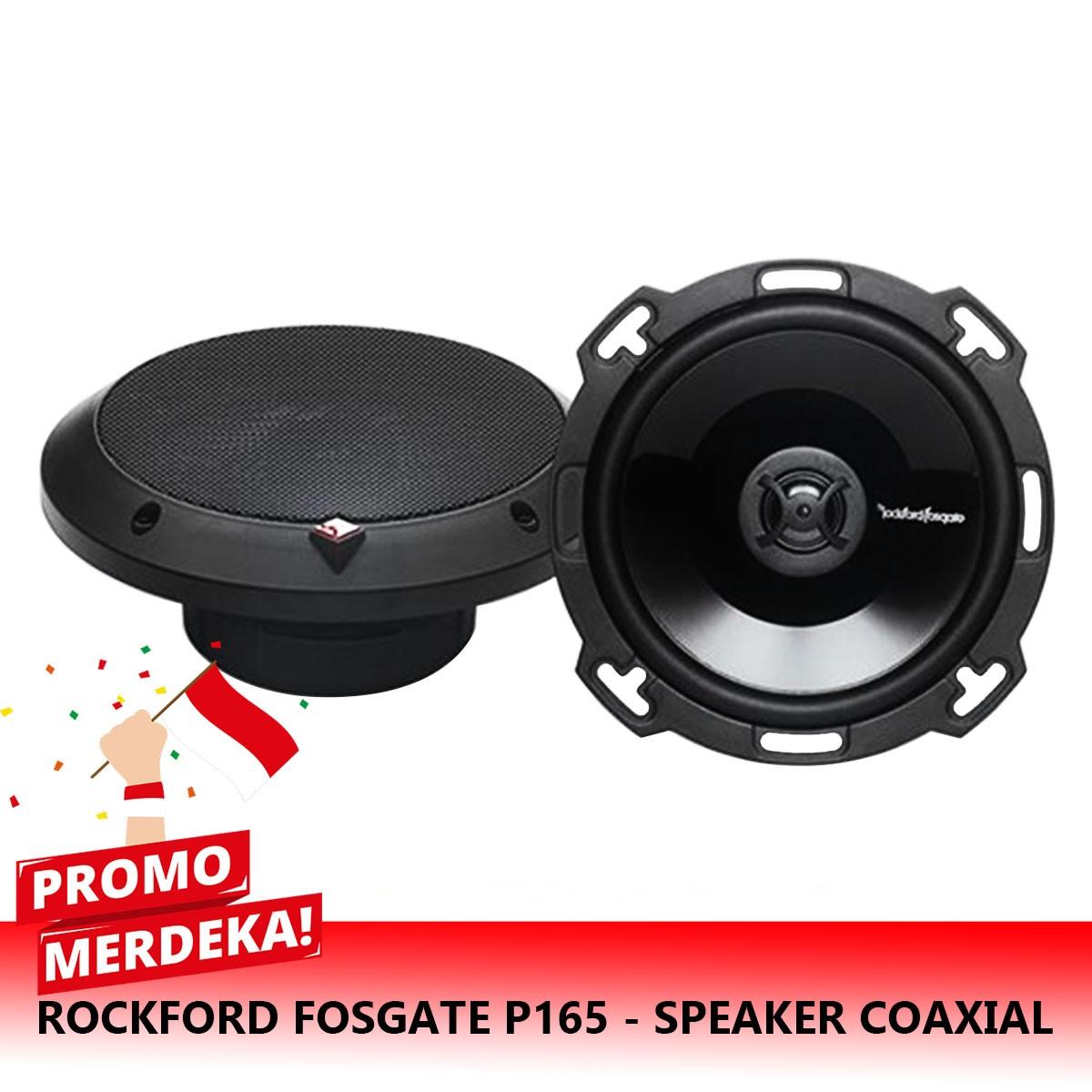 MERDEKA | SPECIAL ROCKFORD FOSGATE P165 - SPEAKER COAXIAL