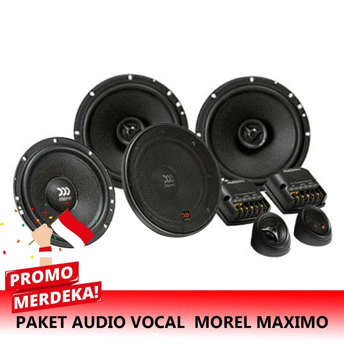 MERDEKA | PAKET AUDIO VOCAL  MOREL MAXIMO