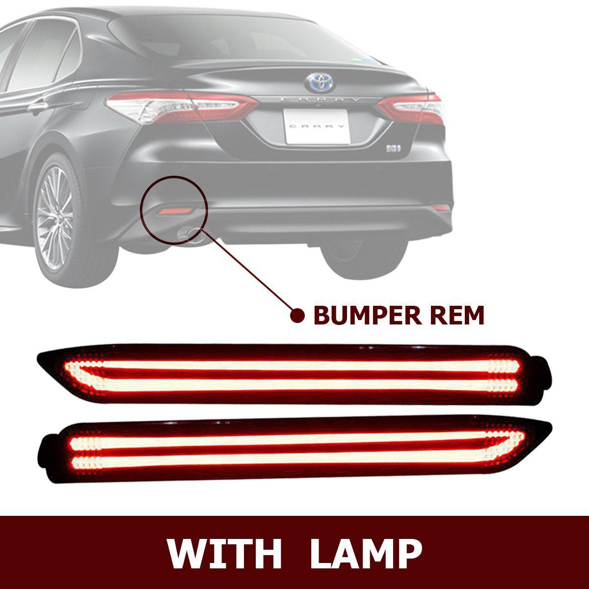 HIRO REAR REFLEKTOR LED BUMPER REM WITH LAMP FOR TOYOTA CAMRY 2013