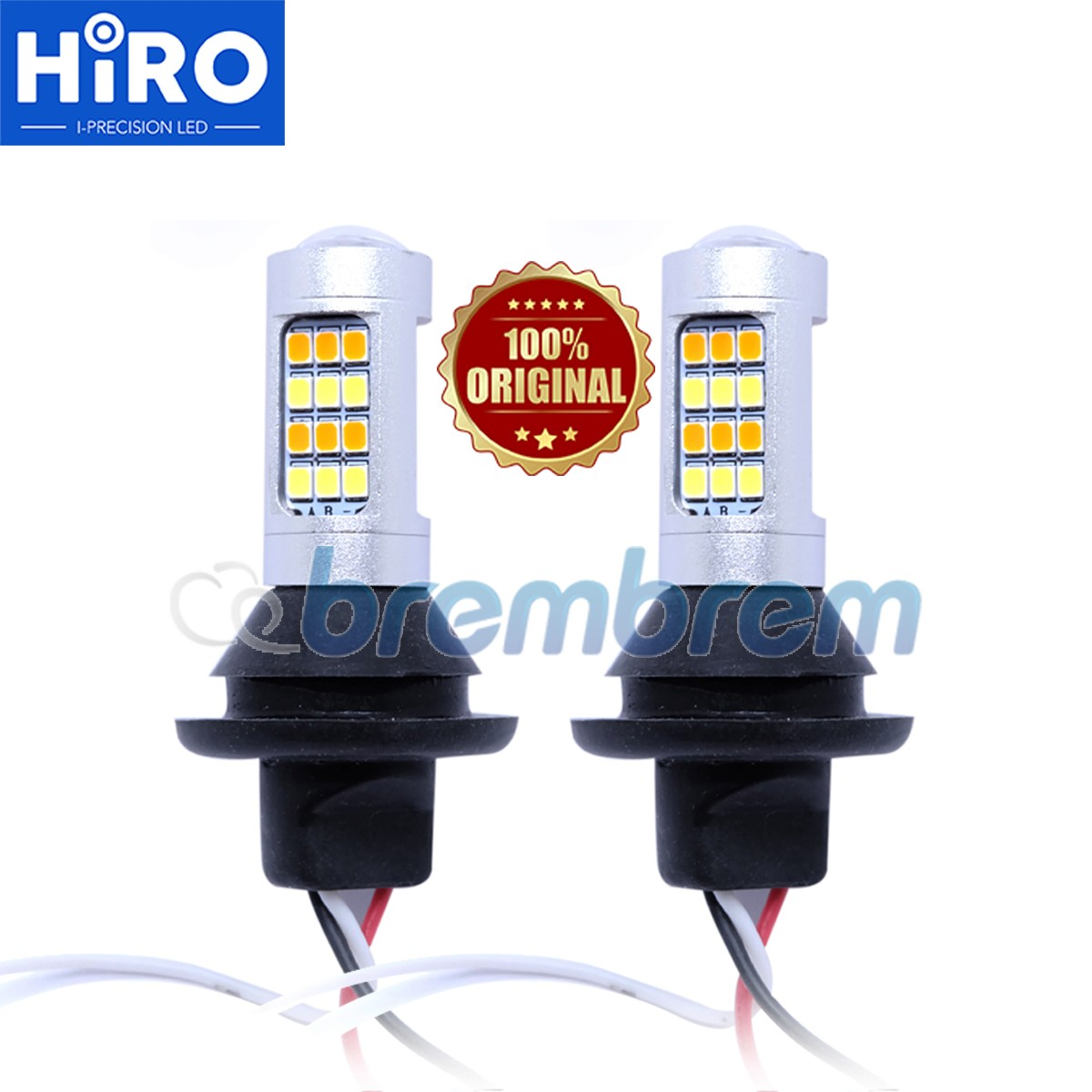 HIRO LAMPU SEIN DUAL COLOR + LAMPU DRL LED