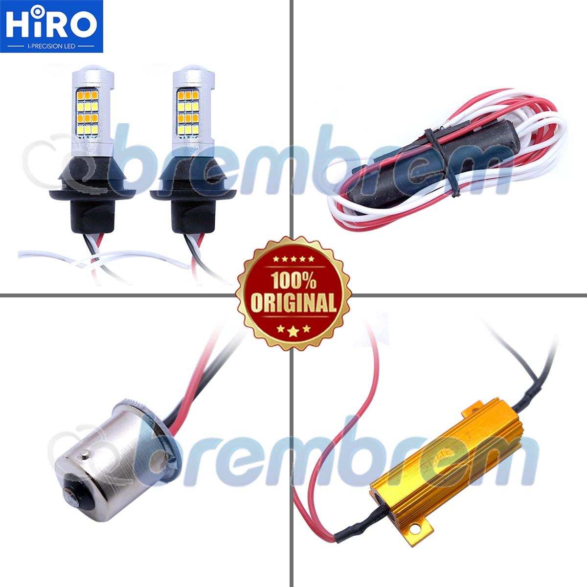 HIRO LAMPU SEIN DUAL COLOR + LAMPU DRL LED