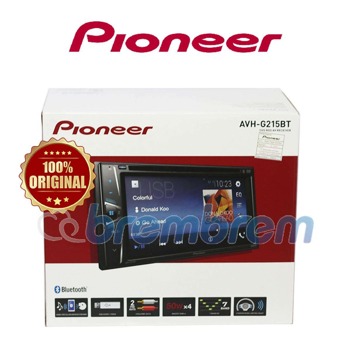 PIONEER AVH G215BT - HEADUNIT 2 DIN