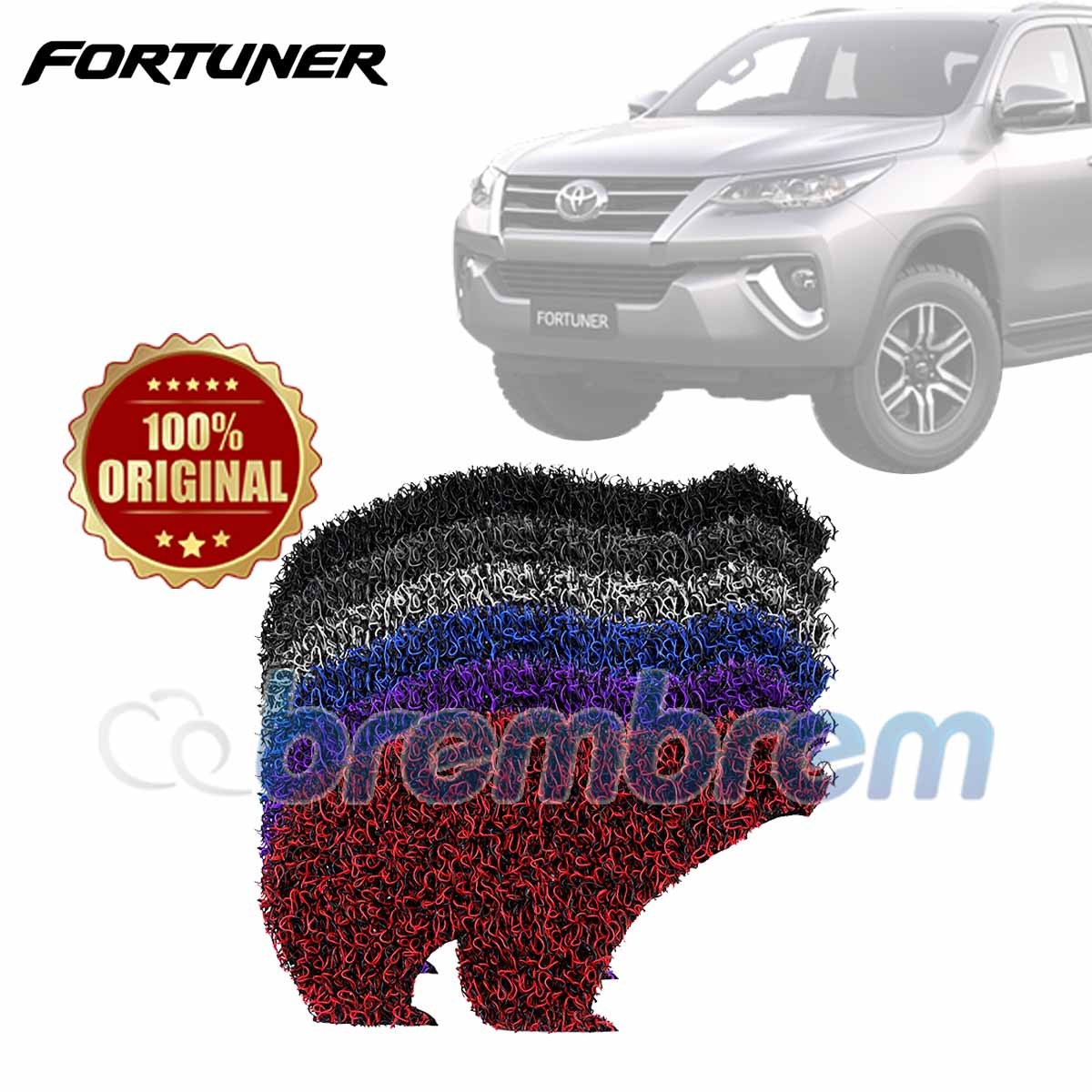 KARPET FIRST CLASS + BAGASI TOYOTA FORTUNER 2016