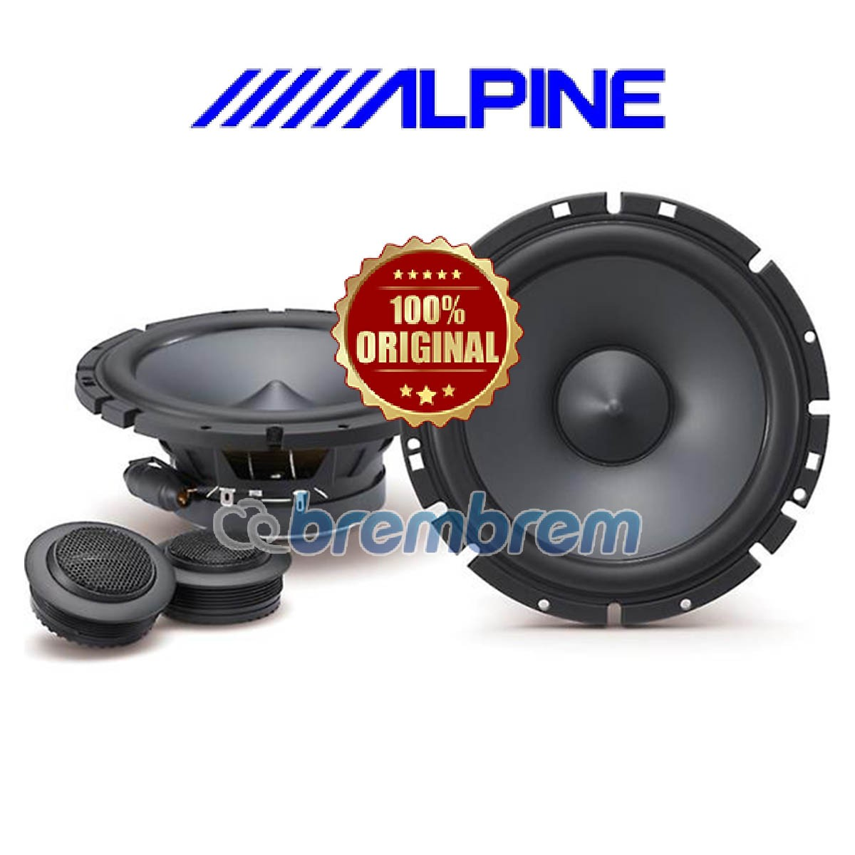 ALPINE SPS 610C - SPEAKER 2 WAY