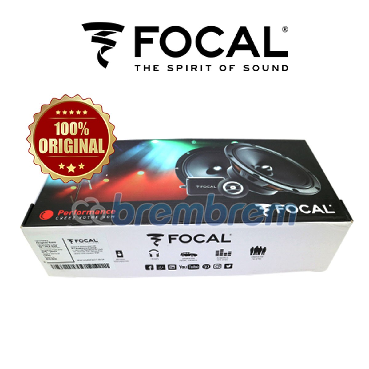 FOCAL RSE 165 - SPEAKER 2 WAY
