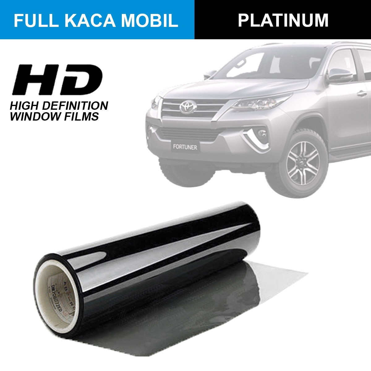 KACA FILM HIGH DEFINITION PLATINUM - (LARGE CAR) FULL KACA