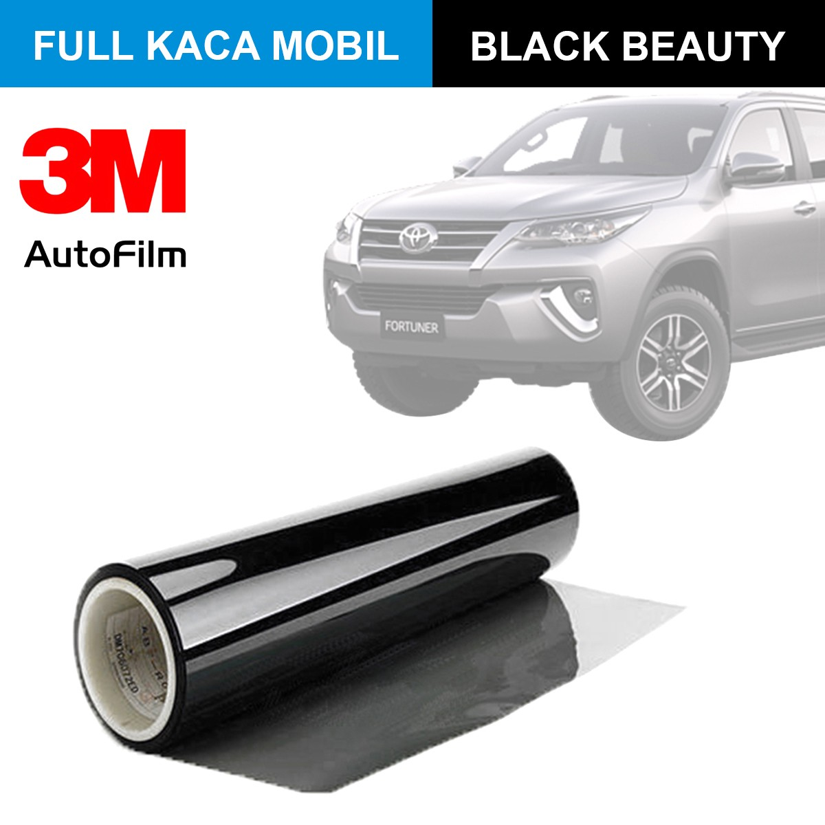 KACA FILM 3M BLACK BEAUTY - (LARGE CAR) FULL KACA