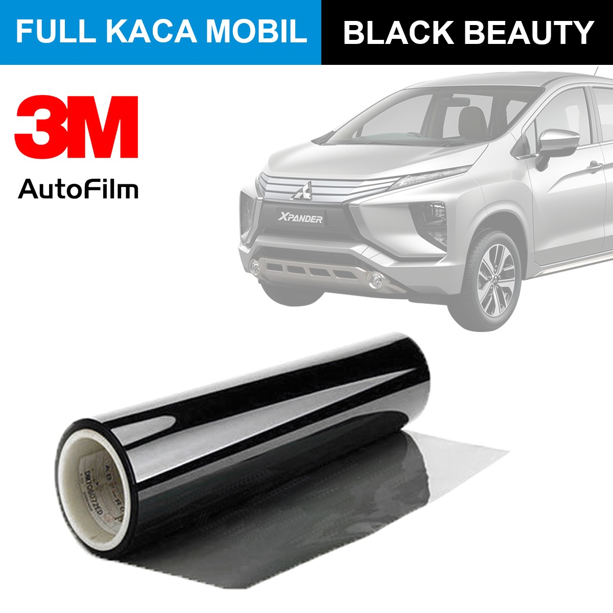 KACA FILM 3M BLACK BEAUTY - (MEDIUM CAR) FULL KACA
