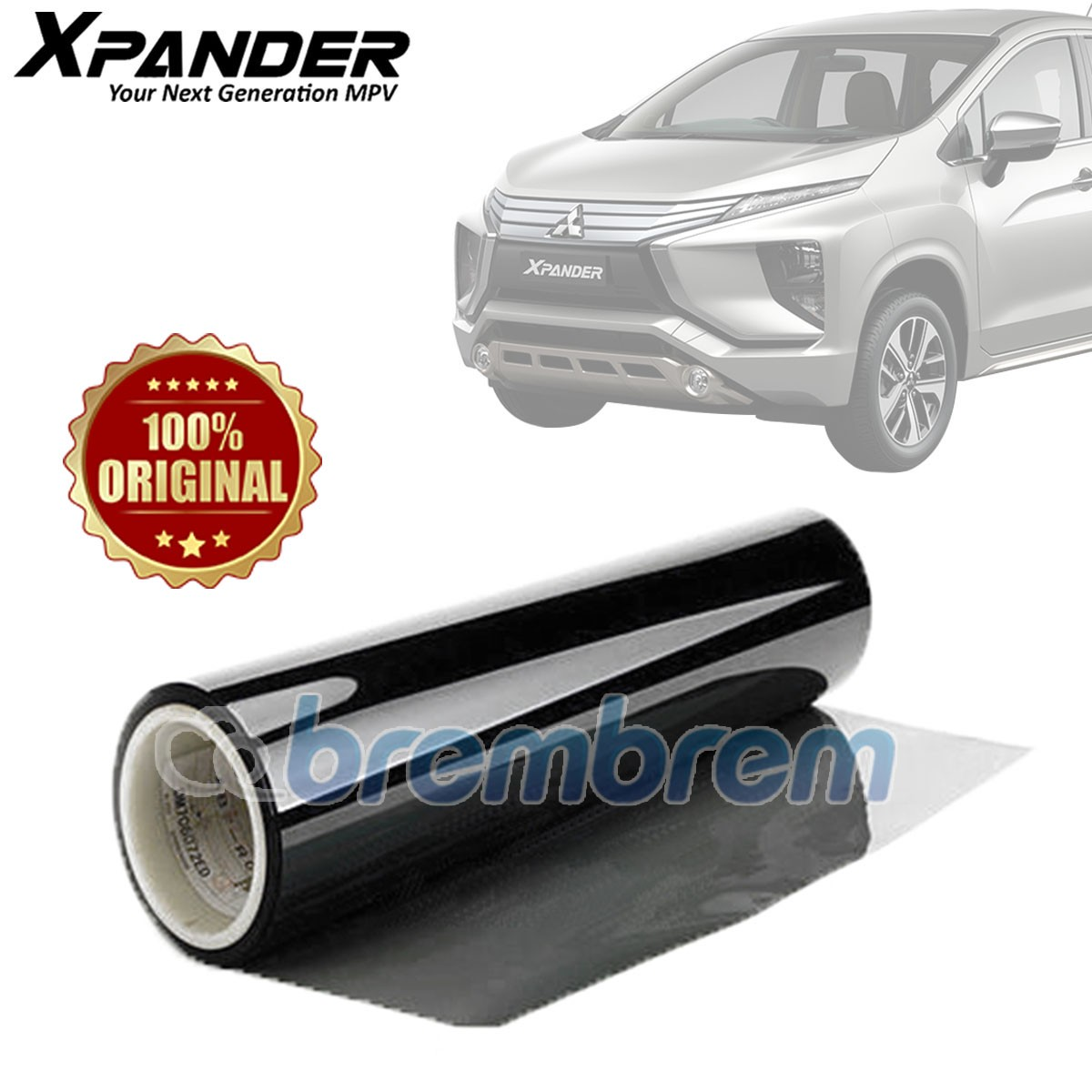 KACA FILM 3M BLACK BEAUTY - (MITSUBISHI XPANDER) FULL KACA