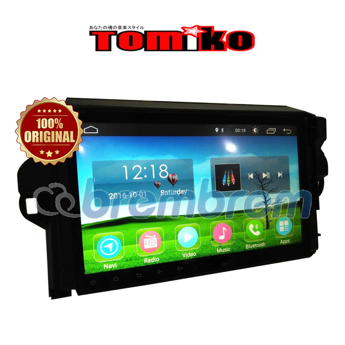 TOMIKO ANDROID 4G LTE FORTUNER 10 INCH - HEADUNIT OEM
