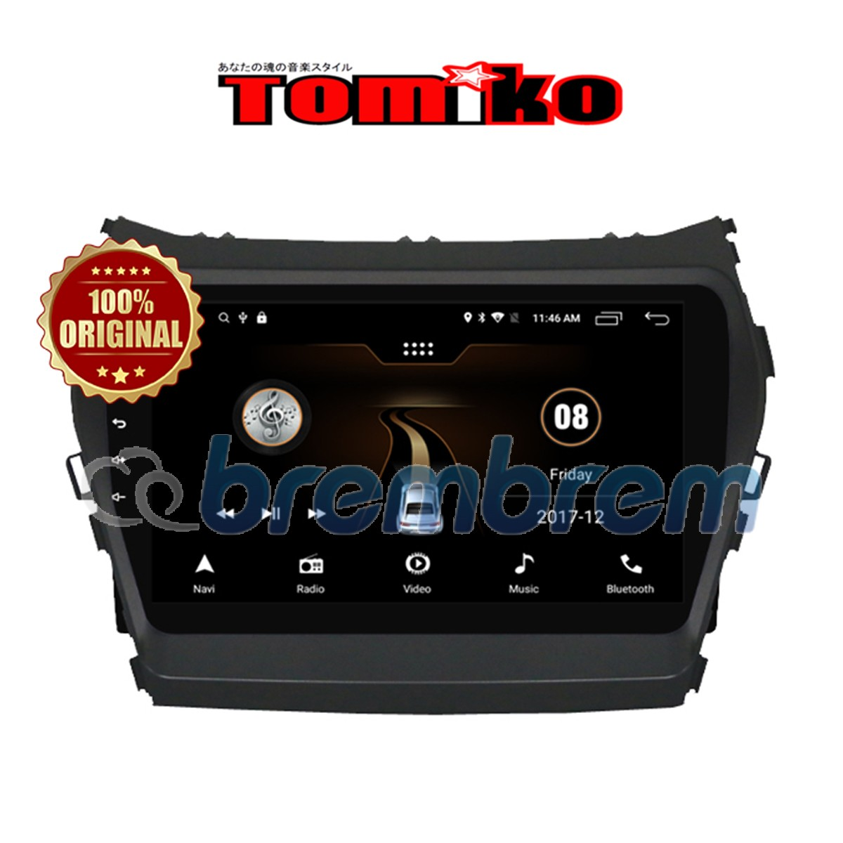 TOMIKO ANDROID 4G LTE HYUNDAI SANTA FE IX45 - HEADUNIT OEM