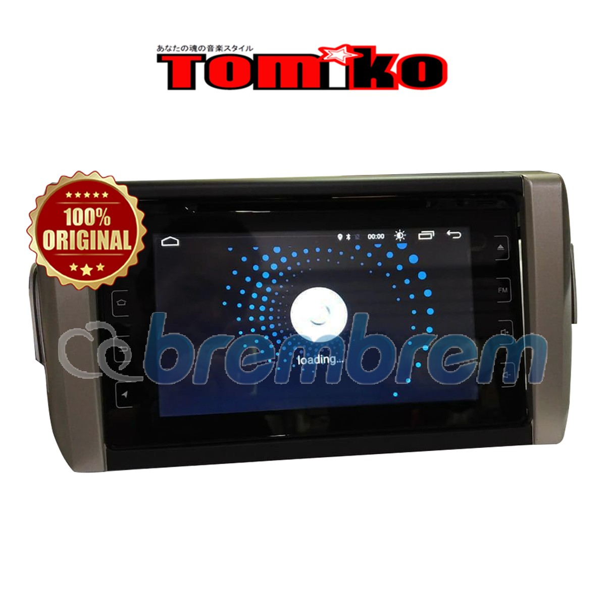 TOMIKO ANDROID 4G LTE NEW INNVOVA REBORN 8 INCH WITH DVD - HEADUNIT OEM