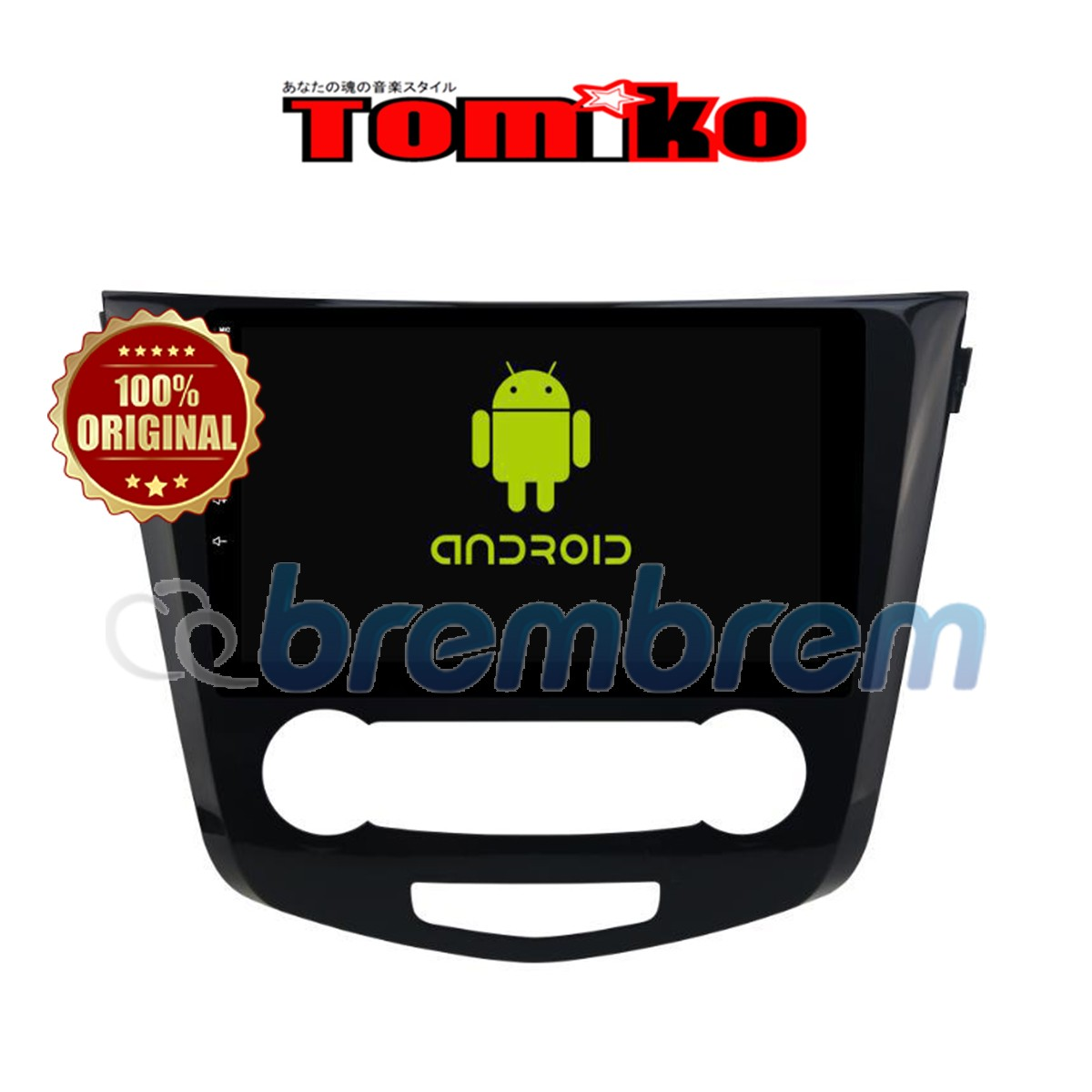 TOMIKO ANDROID 4G LTE NEW NISSAN XTRAIL 2000 CC 10 INCH - HEADUNIT OEM