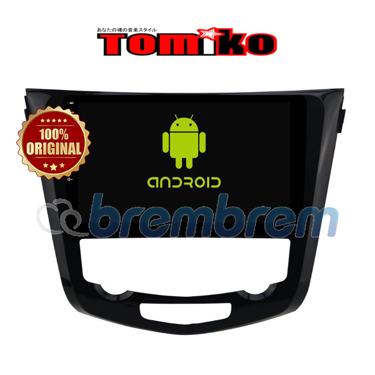 TOMIKO ANDROID 4G LTE NEW NISSAN XTRAIL 2500 CC 10 INCH - HEADUNIT OEM