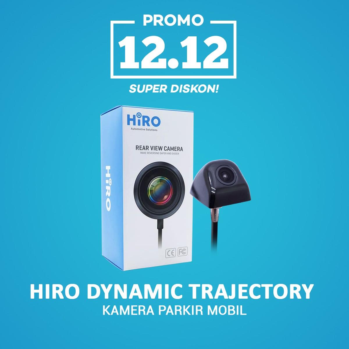 HARBOLNAS 12.12 | HIRO DYNAMIC TRAJECTORY PARKING LINE - KAMERA MUNDUR